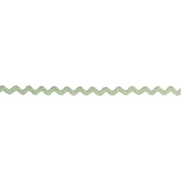 Made by Me Ribbon Welle mint-gold 3mm 2m