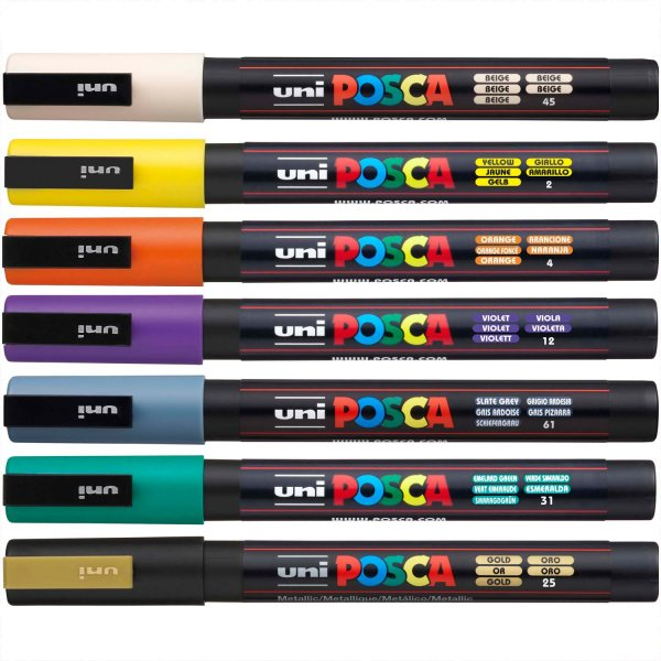 uni POSCA-Marker PC-3M 0,9-1,3mm