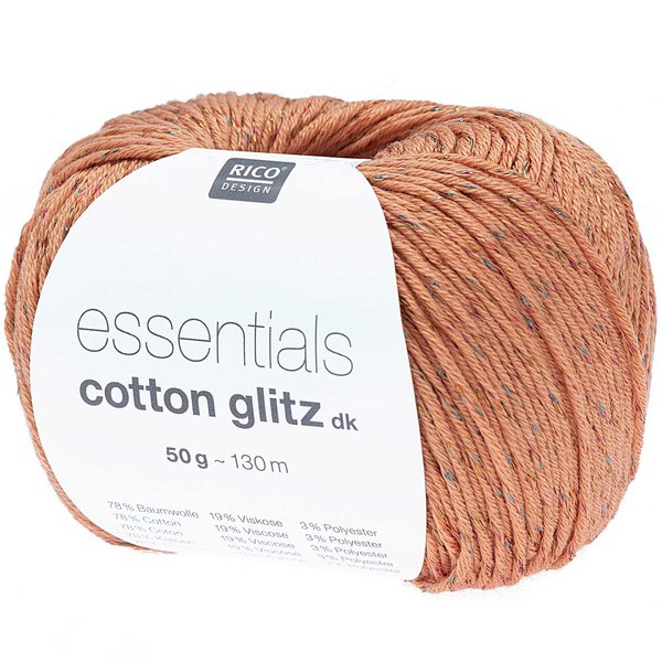 Rico Design Essential Cotton Glitz dk 50g 120m