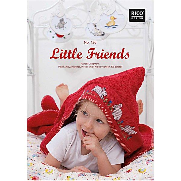 Rico Design Stickbuch Little Friends Nr.126