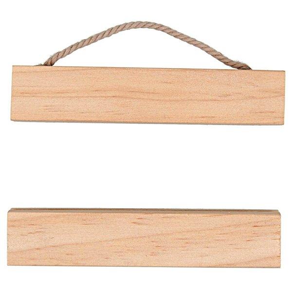 Rico Design Posterhänger Holz 10cm