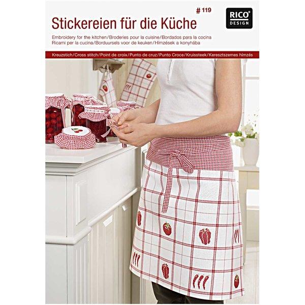 Rico Design Stickereien für die Küche Nr.119