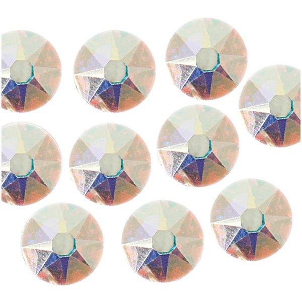 Swarovski® Klebesteine crystal AB 4mm 10 Stück