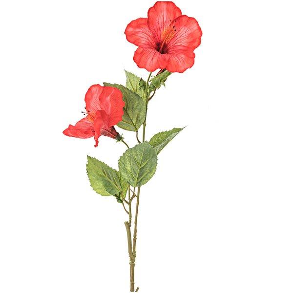 Hibiscuszweig rot 70cm