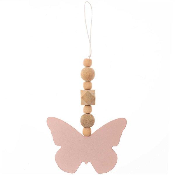 Dekohänger Schmetterling aus Holz 16x10,5cm