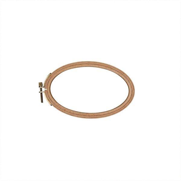 Rico Design Stickring oval 10x16cm