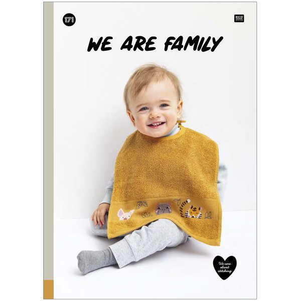 Rico Design Stickbuch We Are Family Nr. 171