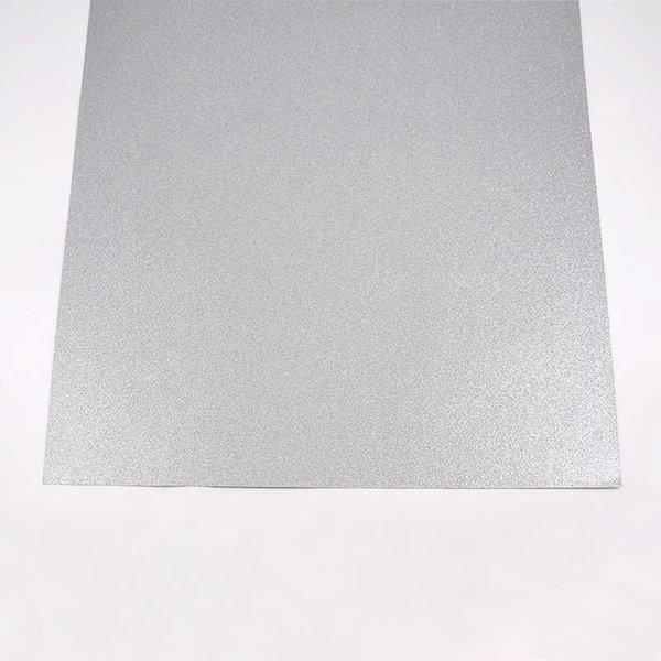 folia Glitterkarton silber 50x70cm 300g/m²