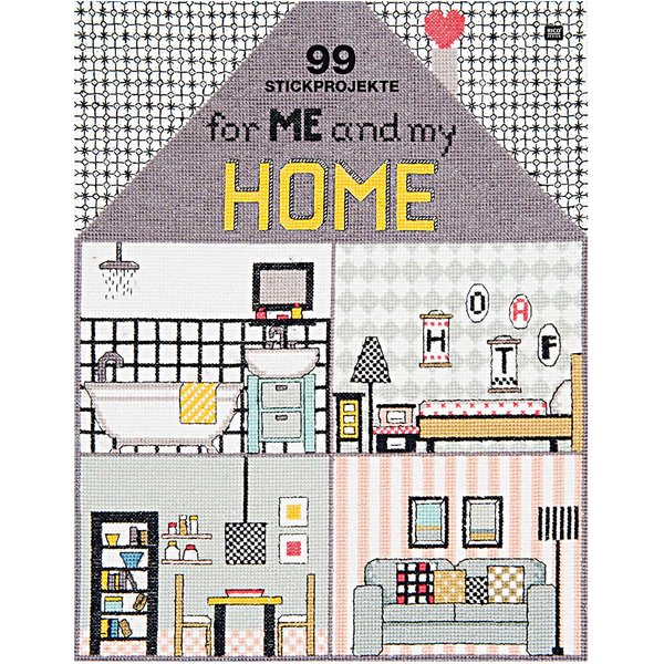 Rico Design 99 Stickprojekte - for me and my home