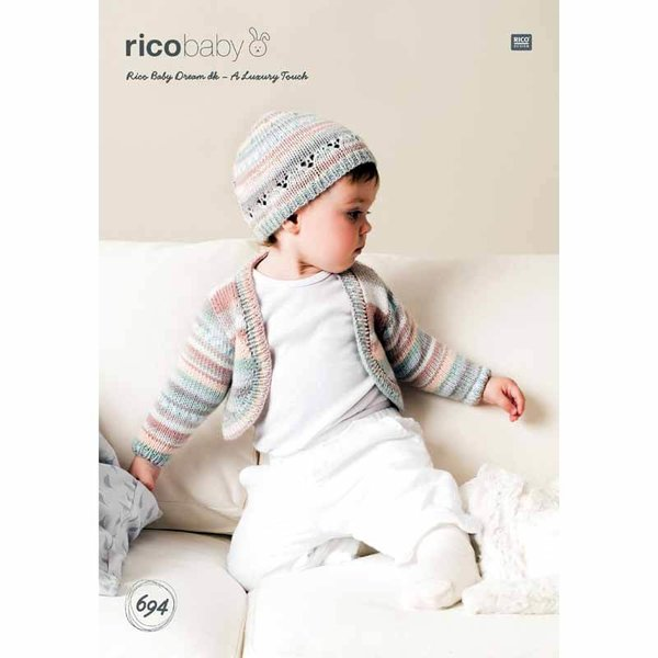 Rico Design Strickidee compact Nr.694 Baby Dream dk
