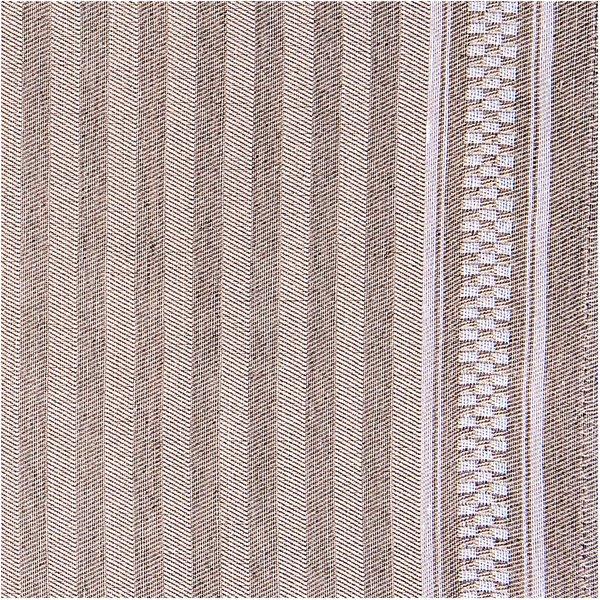 Rico Design Geschirrtuch natur mit weißem Rand 50x75cm