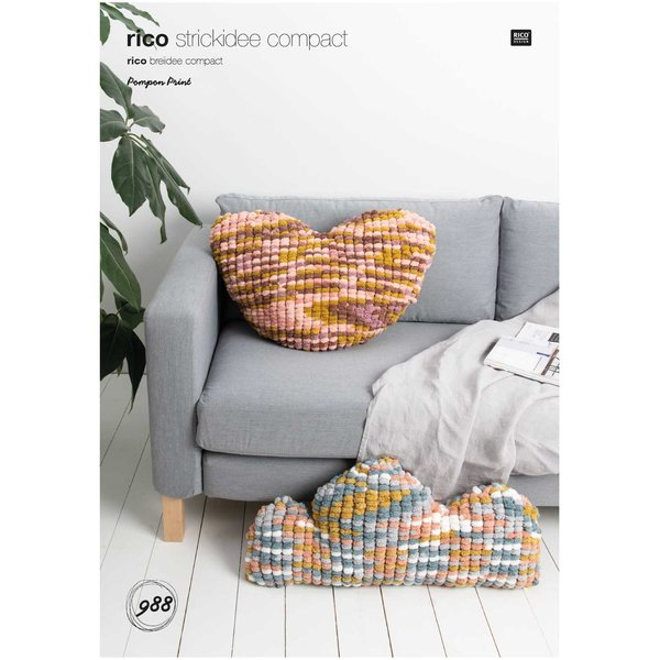Rico Design Strickidee compact Nr.988 Creative Pompon Print