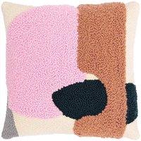 Rico Design Punch Needle Packung Kissen bonbonrosa inkl. Punch Needle