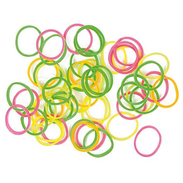 Jewellery Made by Me Loom Bänder Mix neon ca. 100 Stück