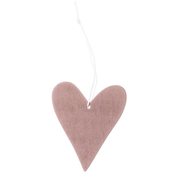Ohhh! Lovely! Holzhänger Herz rosegold