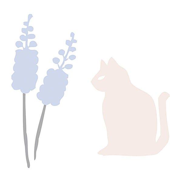 Rico Design Appliqué Katze 11x11cm