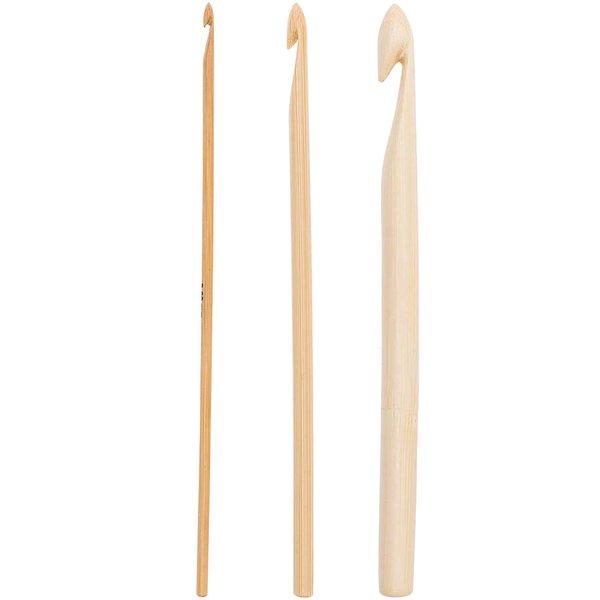 Rico Design Häkelnadel Bambus