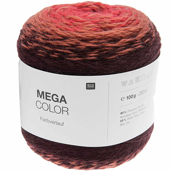 Rico Design Mega Color 100g 250m