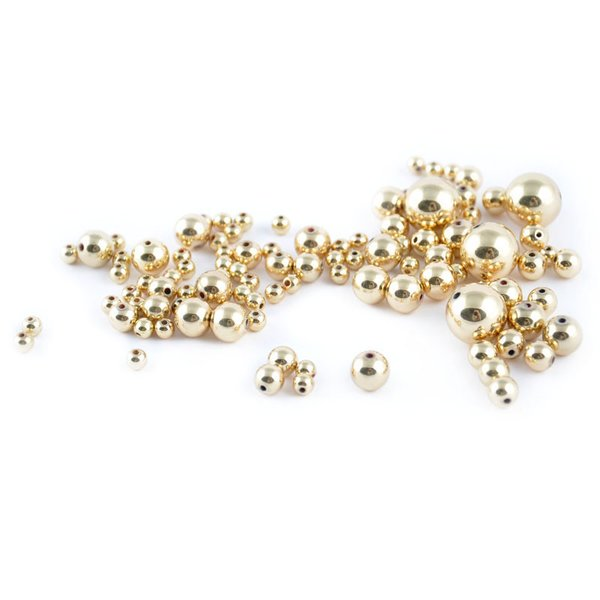 Rico Design Perlen gold