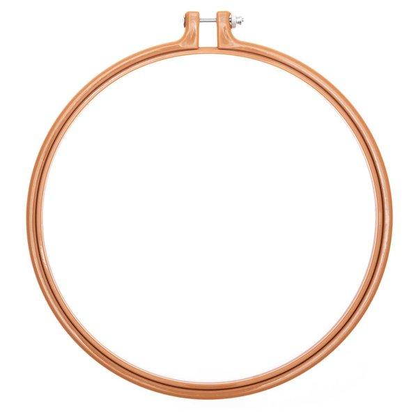 Rico Design Stickring aus Kunststoff senf 22,8cm