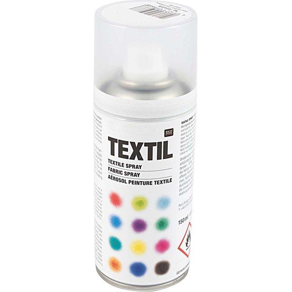 Rico Design Textil Spray Glitter irisierend 150ml