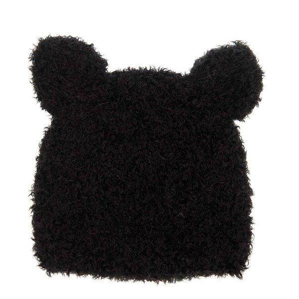 Rico Design Strickset Mütze Katze schwarz