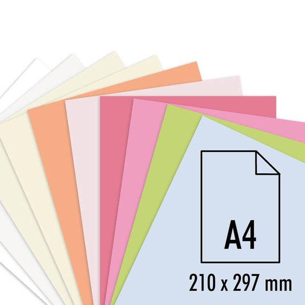 Artoz Bogen Perga pastell A4 100g/m² 5 Stück