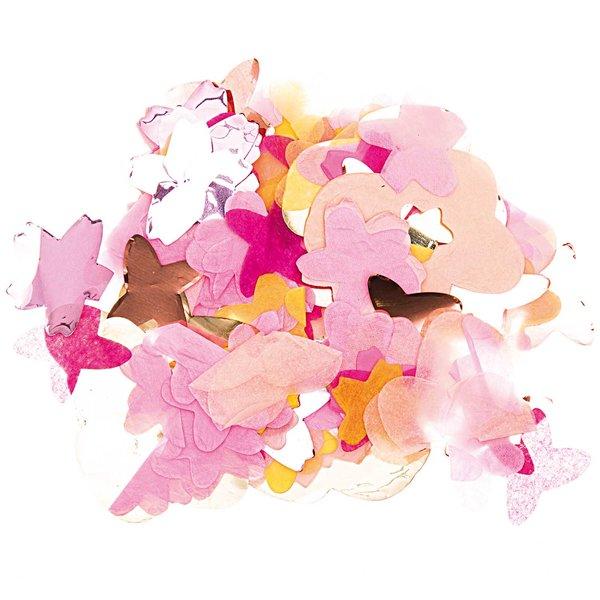 YEY! Let's Party Konfetti Blüten rosa Mix 20g