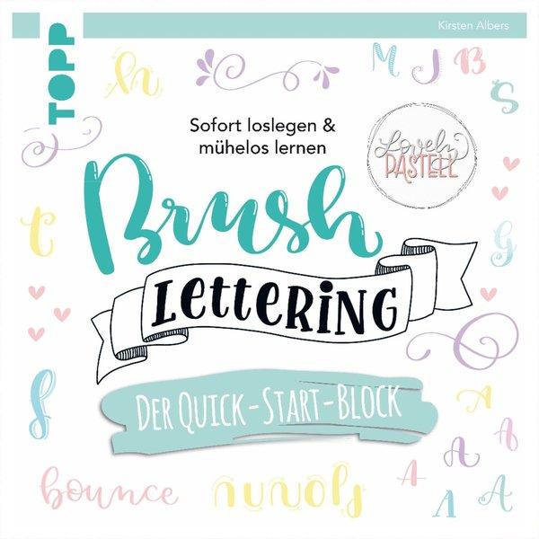 TOPP Brush Lettering. Der Quick-Start-Block