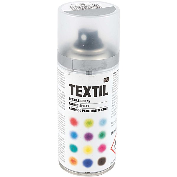 Rico Design Textil Spray silber 150ml