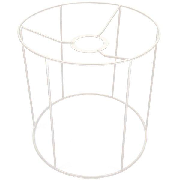 Rico Design Lampenschirm weiß rund 20cm