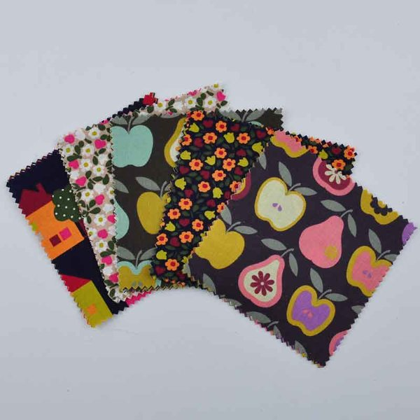 Rico Design Stoffpaket Mix18 13,5x13,5cm 20 Stück