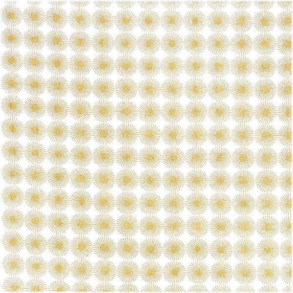 Rico Design Stoff Rosette gold 50x70cm