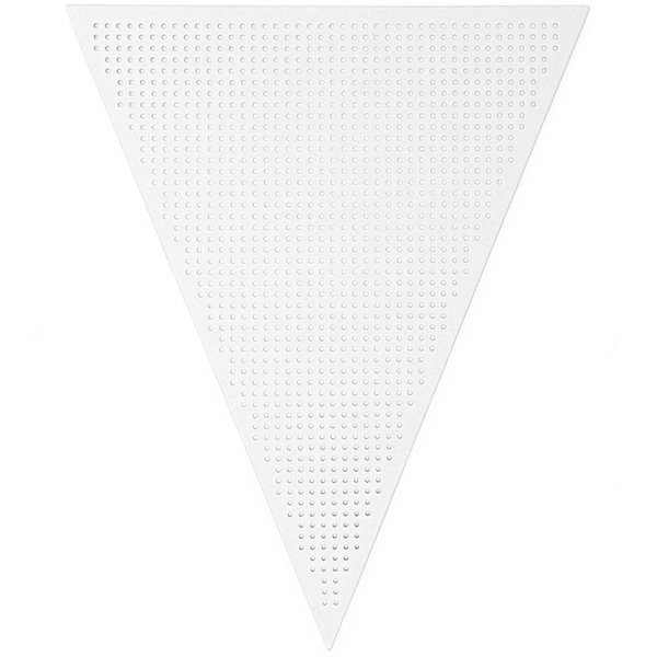 Paper Poetry Stickkarton Wimpelgirlande 10 Stück