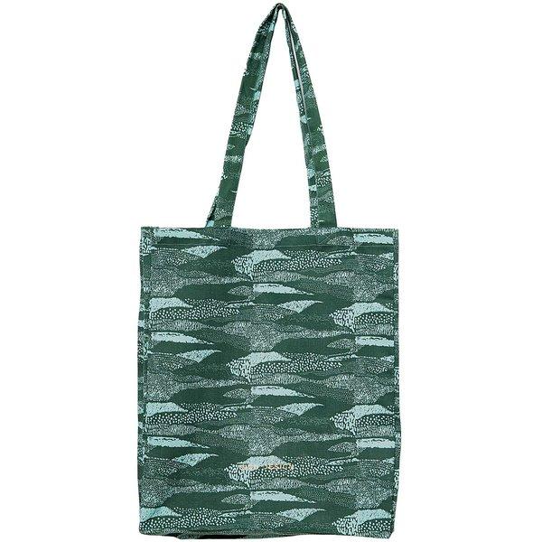 Rico Design Canvas-Shopper grün 38x45x10cm